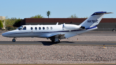N876UC - Cessna 525A CitationJet 2 - Private
