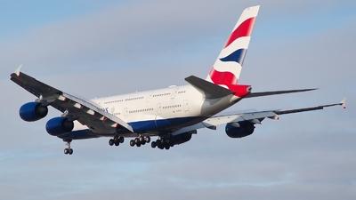 G-XLEC - Airbus A380-841 - British Airways