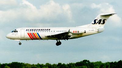 SE-DGP - Fokker F28-4000 Fellowship - Scandinavian Airlines (SAS)