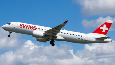 A picture of HBJCC - Airbus A220300 - Swiss - © Aldo Bidini