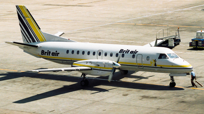 F-GHMK - Saab 340A - Brit Air