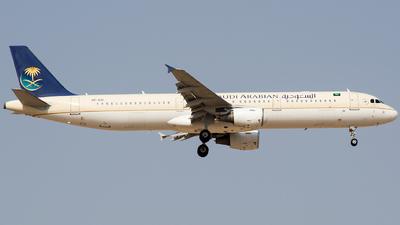 A picture of HZASI - Airbus A321211 - Saudia - © Basil Lutfi