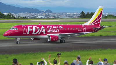 JA14FJ - Embraer 170-200STD - Fuji Dream Airlines