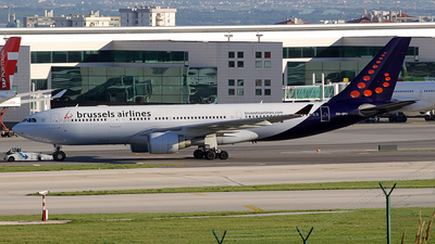OO-SFU - Airbus A330-223 - Brussels Airlines