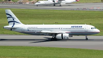 SX-OAQ - Airbus A320-232 - Aegean Airlines