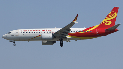 B-1390 - Boeing 737-8 MAX - Hainan Airlines