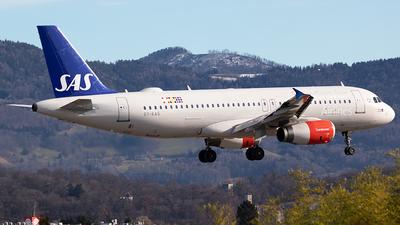 A picture of OYKAS - Airbus A320232 - SAS - © Markus Buttinger