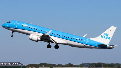 PH-EXB - Embraer 190-100STD - KLM Cityhopper