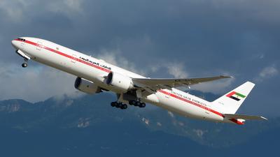 A6-SIL - Boeing 777-35RER - United Arab Emirates - Abu Dhabi Amiri Flight