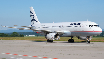 SX-DVM - Airbus A320-232 - Aegean Airlines
