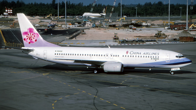 B-18602 - Boeing 737-809 - China Airlines