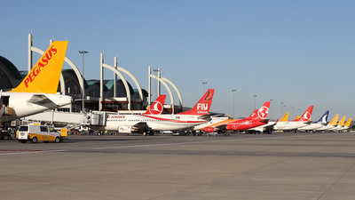 LTFJ - Airport - Ramp