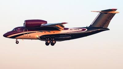 A picture of RA74015 - Antonov An74200 -  - © Christian Tondo