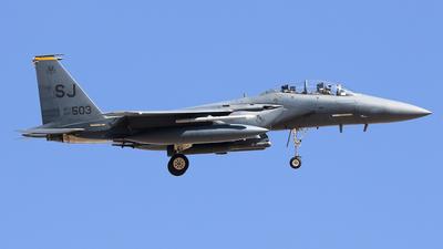 89-0503 - McDonnell Douglas F-15E Strike Eagle - United States - US Air Force (USAF)