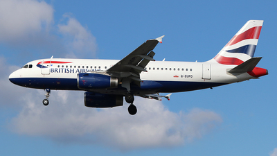 A picture of GEUPO - Airbus A319131 - British Airways - © Ferenc Kolos