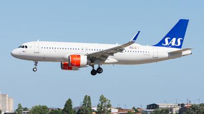 SE-DYC - Airbus A320-251N - Scandinavian Airlines (SAS)