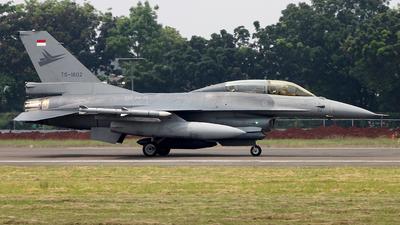 TS-1602 - General Dynamics F-16BM Fighting Falcon - Indonesia - Air Force