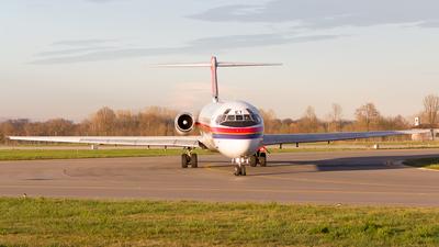 I-SMET - McDonnell Douglas MD-82 - Meridiana