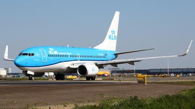 A picture of PHBGH - Boeing 7377K2 - KLM - © Mark de Bruijn