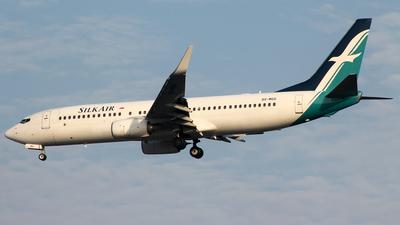 9V-MGG - Boeing 737-8SA - SilkAir