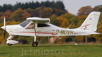 D-MUVH - Tecnam P92 Echo Classic - Aero-Club Idar-Oberstein