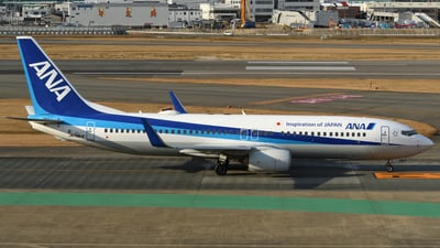 A picture of JA78AN - Boeing 737881 - All Nippon Airways - © Nii