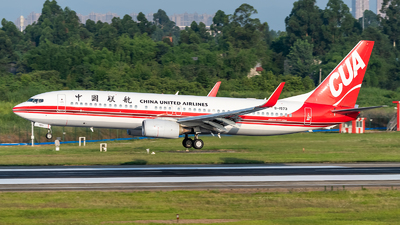 B-1573 - Boeing 737-89P - China United Airlines