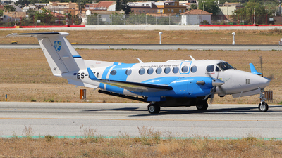 ES-PKY - Beechcraft B300 King Air 350ER - Estonia - Border Guard
