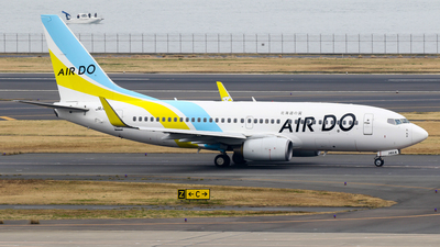 JA14AN - Boeing 737-781 - Air Do (Hokkaido International Airlines)