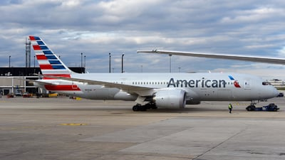 A picture of N800AN - Boeing 7878 Dreamliner - American Airlines - © Rocky Wang