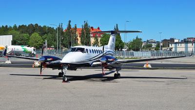 A picture of SEMJH - Beech B200GT King Air 250 - Babcock Scandinavian AirAmbulance - © Viktor Gadestedt
