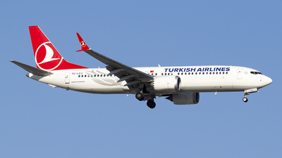 A picture of TCLCJ - Boeing 737 MAX 8 - Turkish Airlines - © Bora Polater