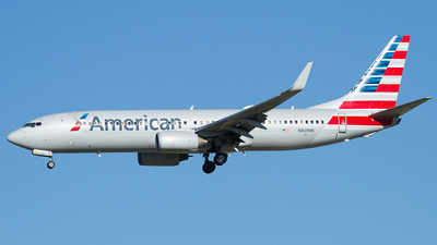 A picture of N809NN - Boeing 737823 - American Airlines - © Eric Siebeneicher