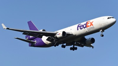 A picture of N523FE - McDonnell Douglas MD11F - FedEx - © Jan Heinrich