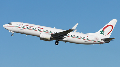 A picture of CNRNW - Boeing 7378B6 - Royal Air Maroc - © Luca Cesati