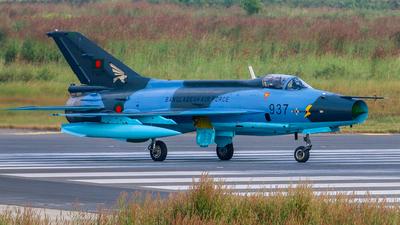 F937 - Chengdu F-7BG - Bangladesh - Air Force