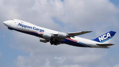 JA17KZ - Boeing 747-8KZF - Nippon Cargo Airlines (NCA)