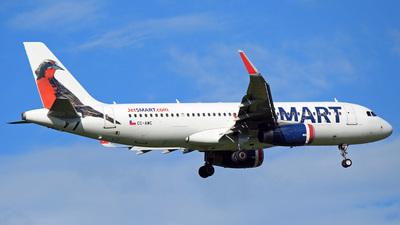 A picture of CCAWC - Airbus A320232 - JetSMART - © Maurício Alves