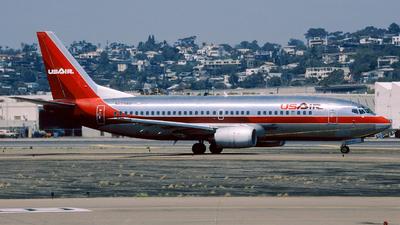 N523AU - Boeing 737-3B7 - USAir