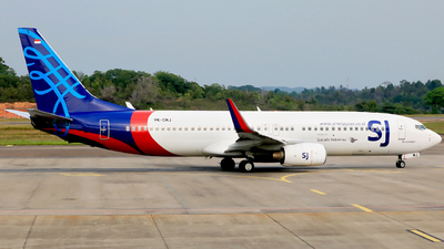 PK-CMJ - Boeing 737-85P - Sriwijaya Air