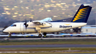VH-XFT - Bombardier Dash 8-102 - Skippers Aviation