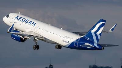 A picture of SXNEB - Airbus A320271N - Aegean Airlines - © Grzesiek Krupa