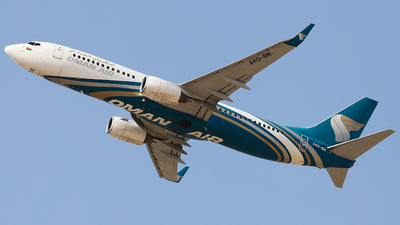 A picture of A4OBM - Boeing 7378FZ - Oman Air - © Oleksiy Naumov