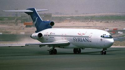 YK-AGB - Boeing 727-294(Adv) - Syrianair - Syrian Arab Airlines