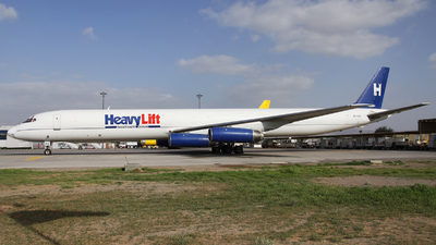 A6-HLB - Douglas DC-8-63(F) - HeavyLift Cargo Airlines
