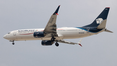 A picture of N958AM - Boeing 737852 - Aeromexico - © Marco César CL
