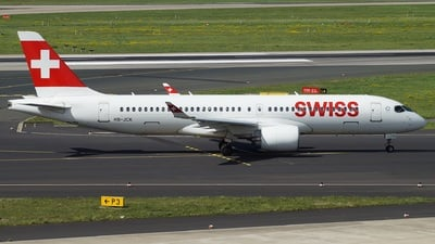 HB-JCK - Bombardier CSeries CS300 - Swiss