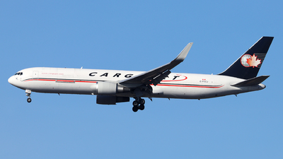A picture of CFCCJ - Boeing 767323(ER)(BDSF) - Cargojet Airways - © Dave Potter