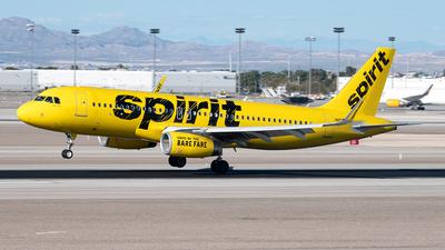 N655NK - Airbus A320-232 - Spirit Airlines