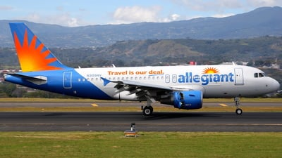 A picture of N305NV - Airbus A319112 - Allegiant Air - © Jorge andres solano sancho